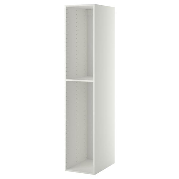 METOD High cabinet frame, white, 40x60x200 cm