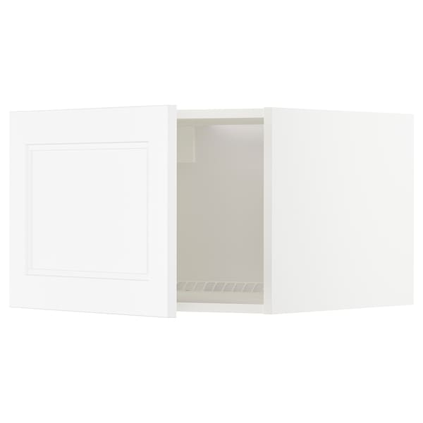 METOD top cabinet for fridge/freezer white/Axstad matt white 60.0 cm 61.9 cm 40.0 cm