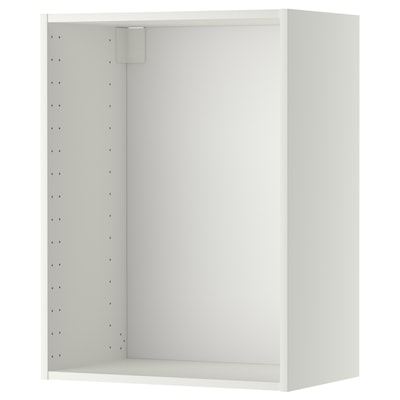 METOD Wall cabinet frame, white, 60x37x80 cm