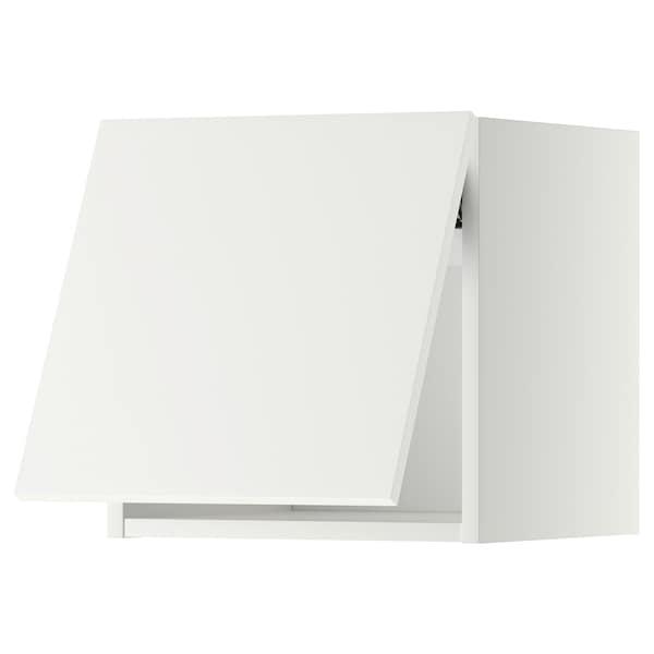 METOD wall cabinet horizontal white/Häggeby white 40.0 cm 38.6 cm 40.0 cm