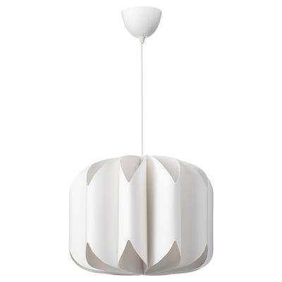 MOJNA / HEMMA Pendant lamp, white
