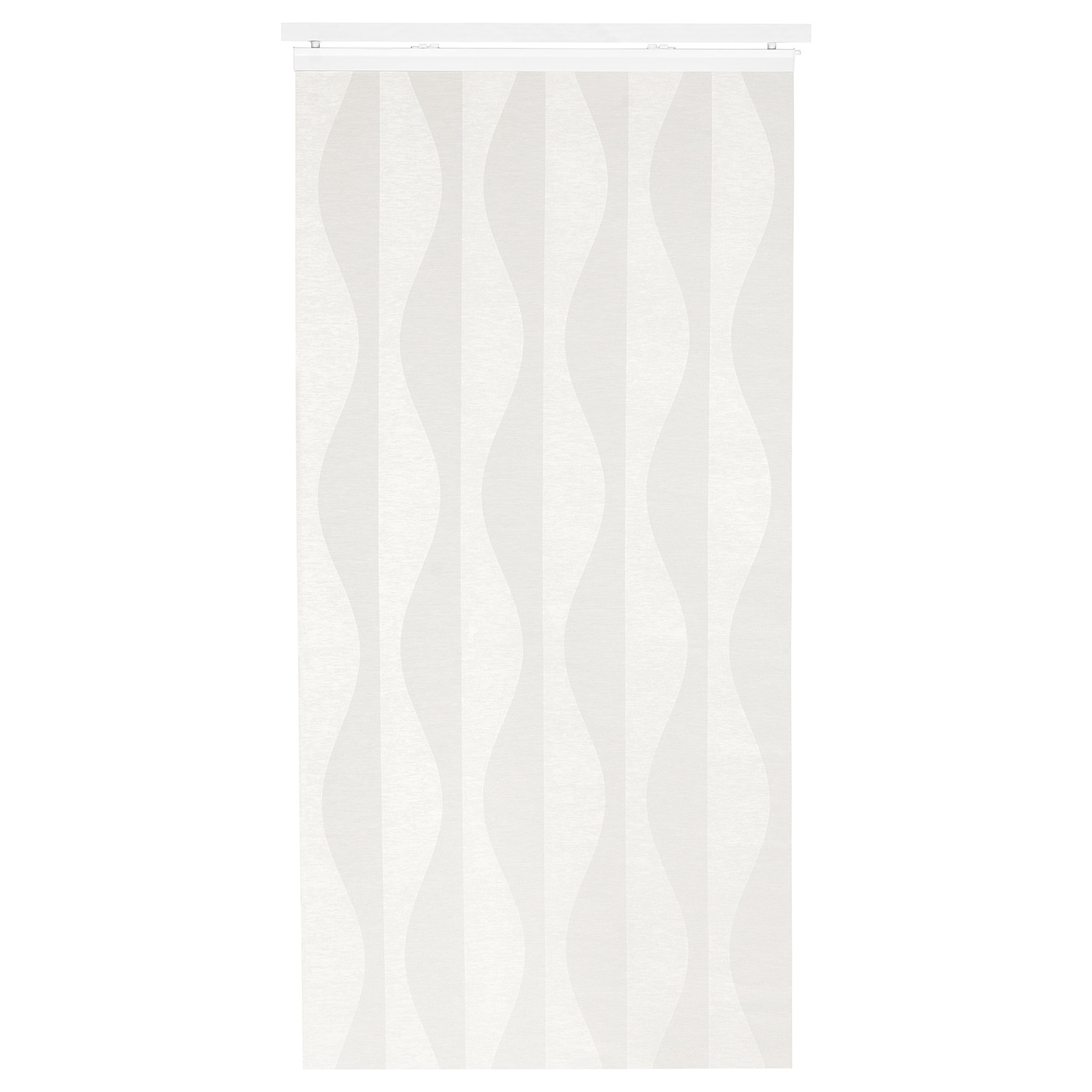 IKEA MURRUTA panel curtain You can cut the panel curtain to the desired length without hemming it.