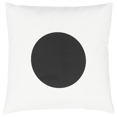 MUSSELBLOMMA Cushion cover, multicolour, 50x50 cm