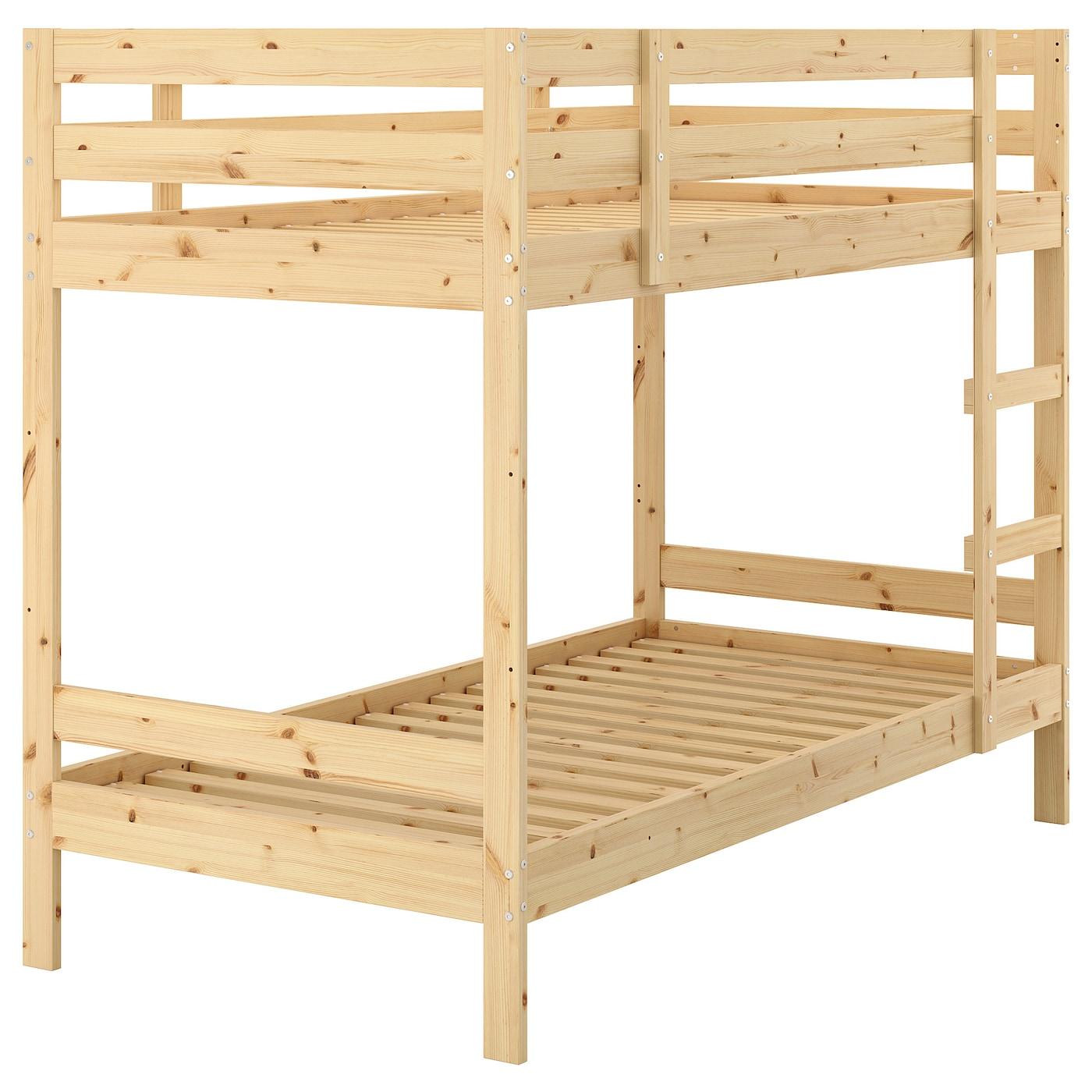 Mydal Bunk Bed Frame Pine 90 X 200 Cm Ikea
