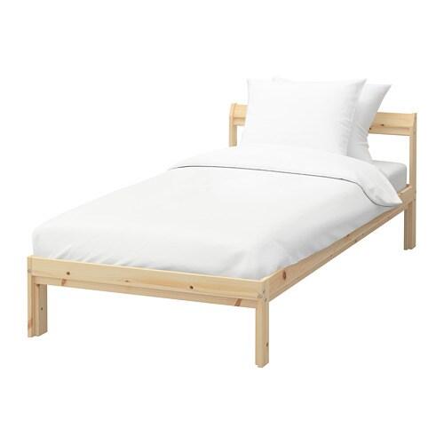 NEIDEN Bed frame Pine/luröy 90 x 200 cm - IKEA