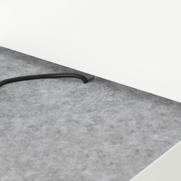 NORDLI Headboard, white, 140/160 cm