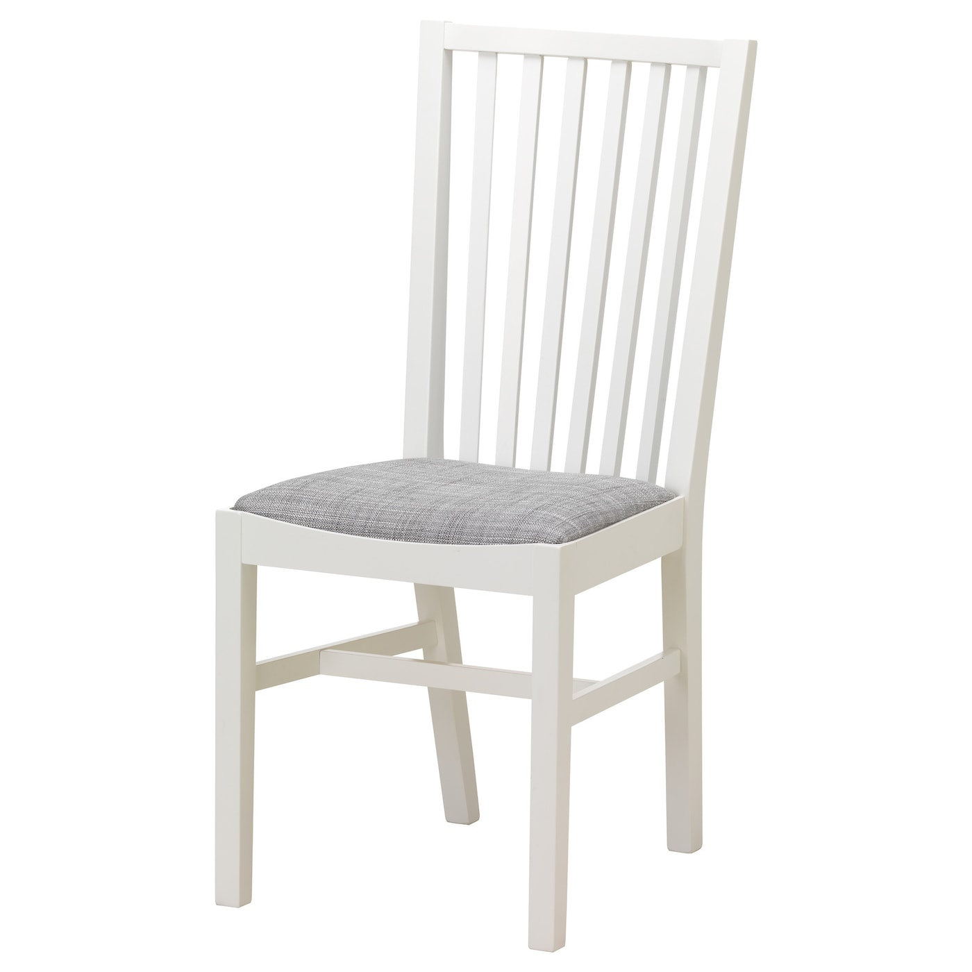 IKEA NORRNÄS chair Solid beech is a hard-wearing natural material.