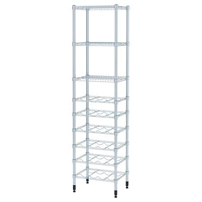 OMAR Shelving unit, 46x36x181 cm