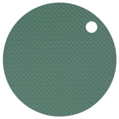 OMTÄNKSAM Jar gripper, green, 15 cm