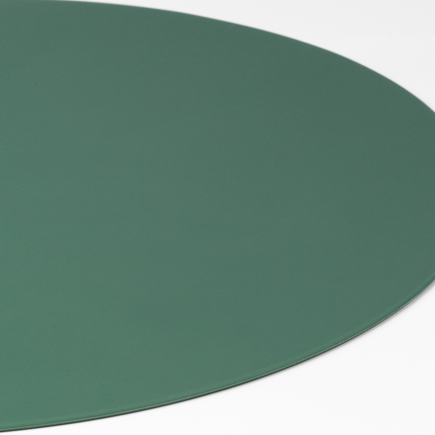 OMTÄNKSAM Place mat with anti-slip, green, 45x35 cm