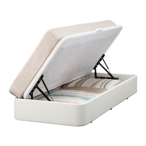 rje bed frame with storage 90x190 cm ikea. Black Bedroom Furniture Sets. Home Design Ideas