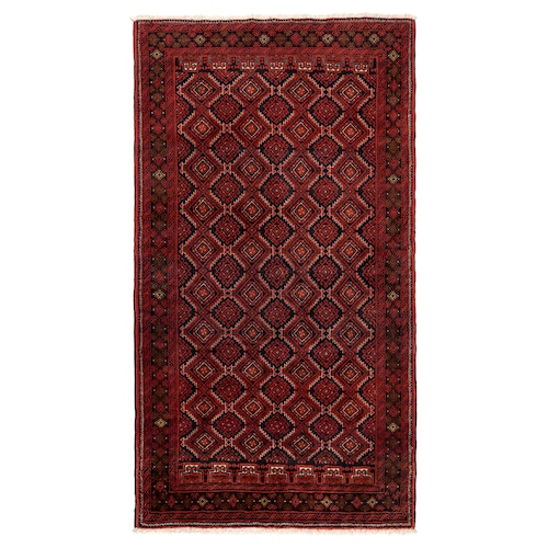 PERSISK BELUTCH rug, low pile handmade assorted patterns 200 cm 100 cm 2.00 m² 3500 g/m² 10 mm 12 mm 7 mm 250 pack