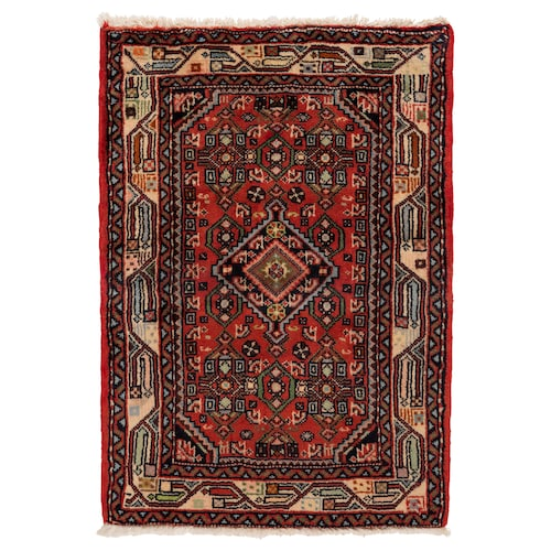 PERSISK HAMADAN rug, low pile handmade assorted patterns 90 cm 60 cm 0.54 m² 3500 g/m² 10 mm 12 mm 7 mm 300 pack