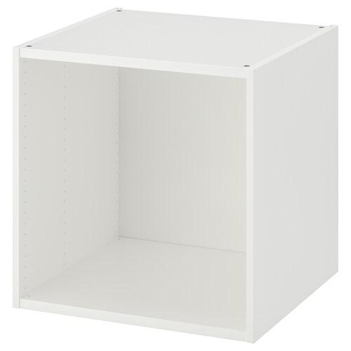 PLATSA frame white 60 cm 55 cm 60 cm