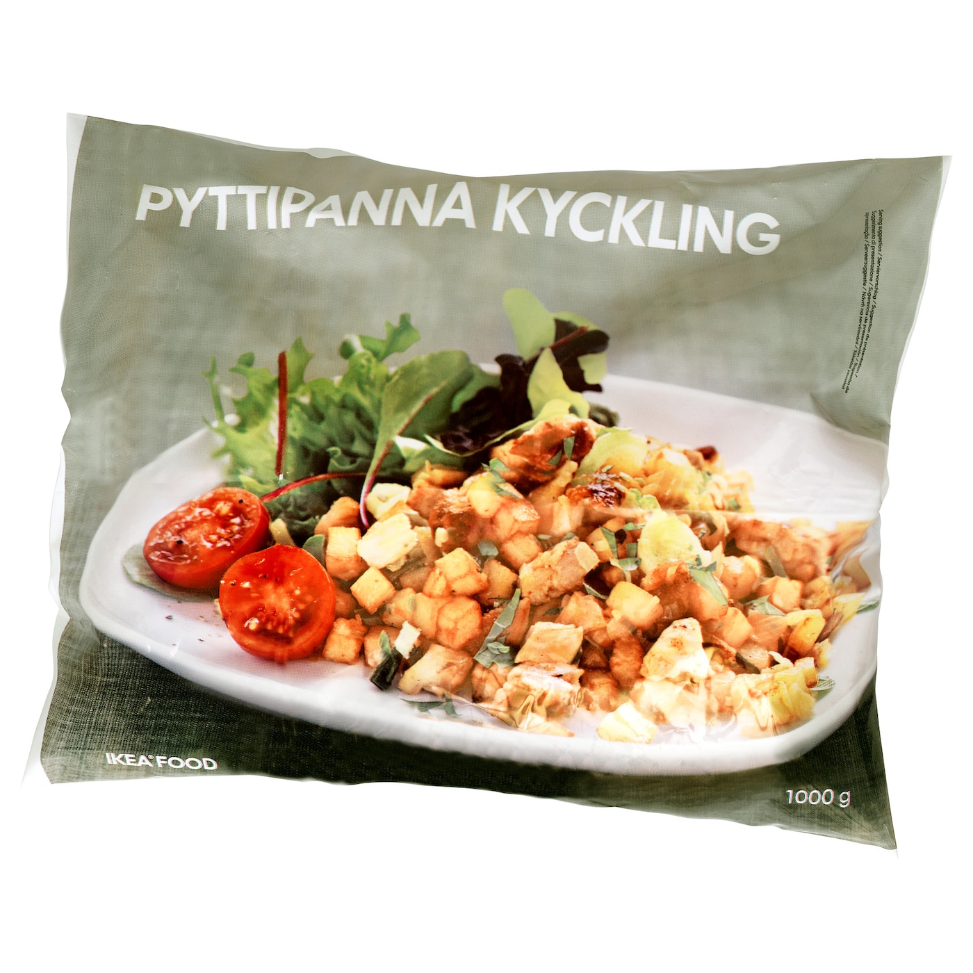 IKEA PYTTIPANNA KYCKLING potato hash with chicken, frozen