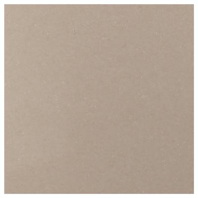 RÅHULT Custom made wall panel, dark beige marble effect/quartz, 1 m²x1.2 cm