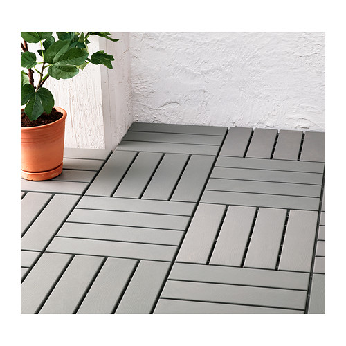 Runnen Floor Decking Outdoor Grey 0 81 M Ikea