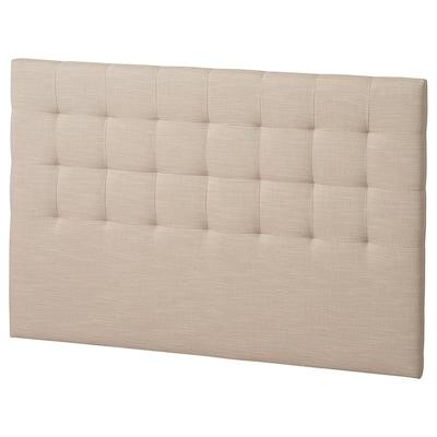 RYKKINN Headboard, Hillared beige, 160 cm