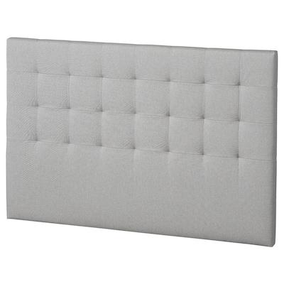 RYKKINN Headboard, Orrsta light grey, 160 cm