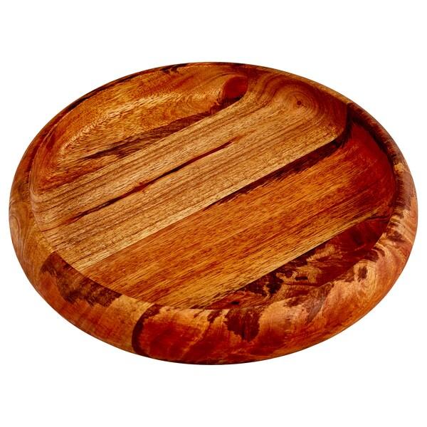 SAKLIG Bowl, brown, 30 cm
