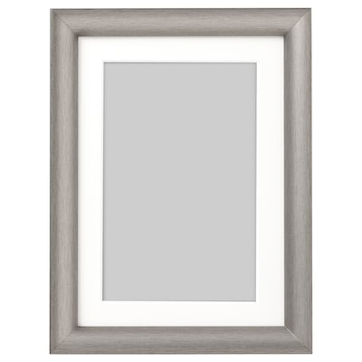 SILVERHÖJDEN Frame, silver-colour, 13x18 cm