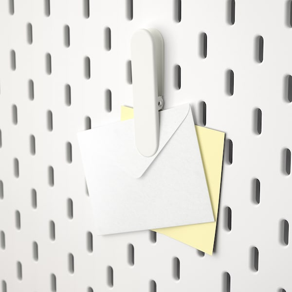 SKÅDIS Clip, white