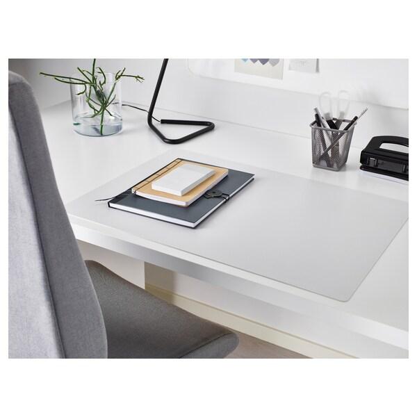 SKRUTT Desk pad, white, 65x45 cm