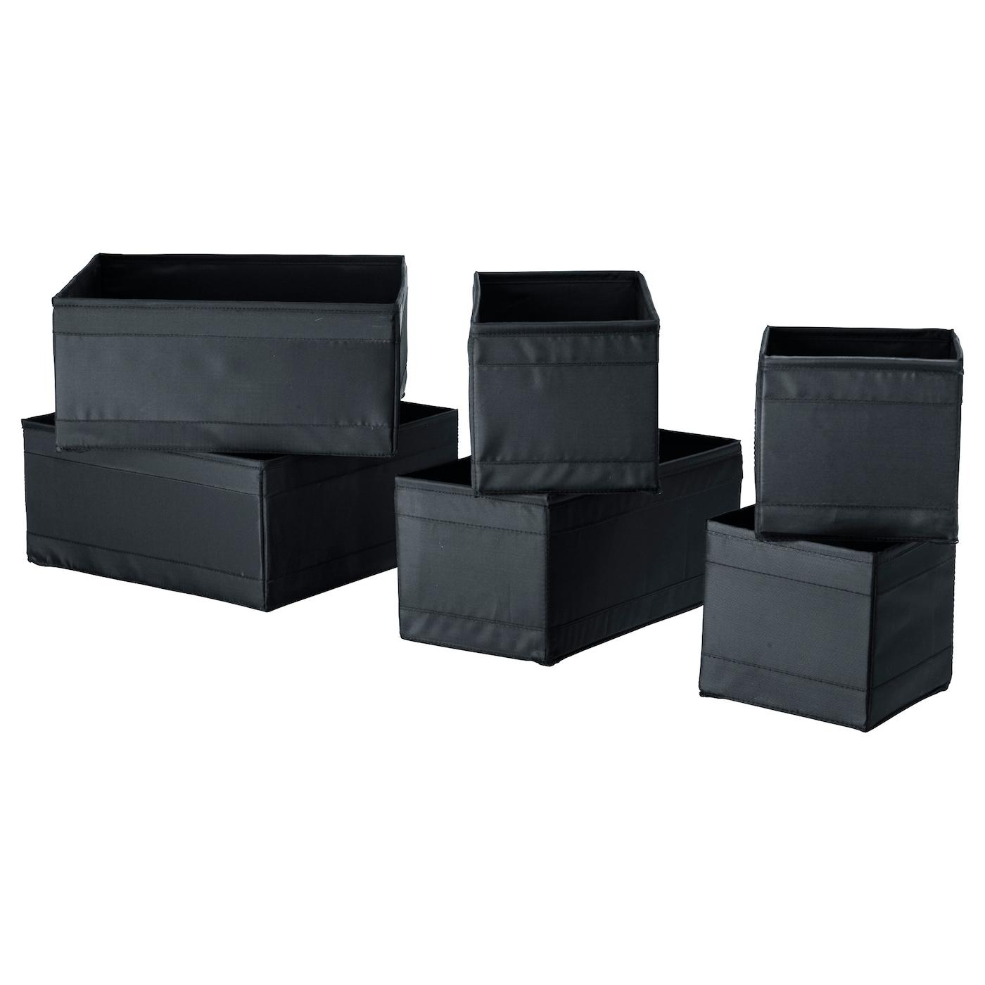 Ikea Skubb Box Set Of 6