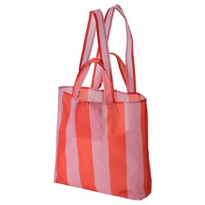SKYNKE Carrier bag, pink/orange, 45x36 cm