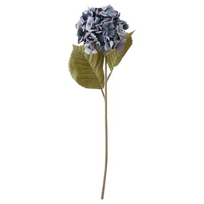 SMYCKA Artificial flower, in/outdoor/Hydrangea blue, 60 cm
