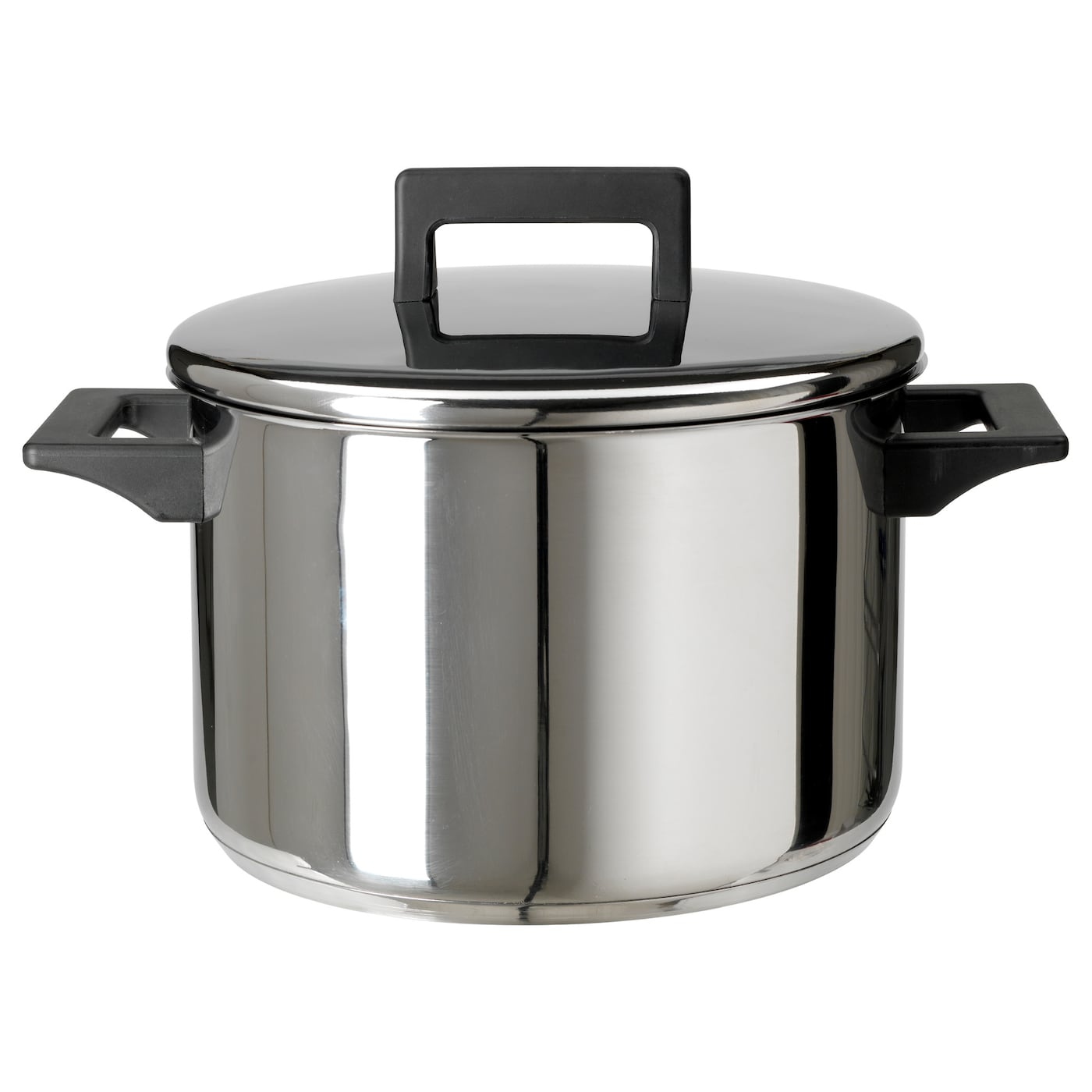IKEA SNITSIG pot with lid Works well on all types of hobs, including induction hob.