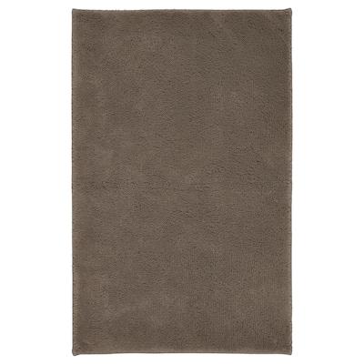 SÖDERSJÖN Bath mat, grey-brown, 50x80 cm