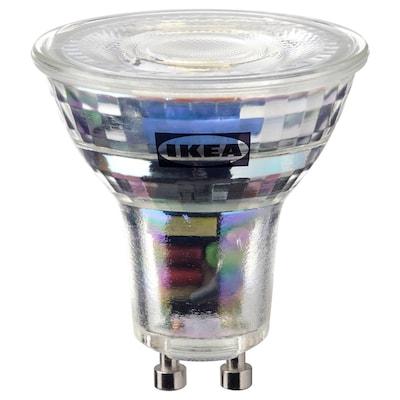 SOLHETTA LED bulb GU10 345 lumen, dimmable
