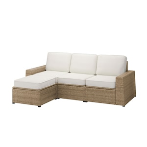 Colour: With footstool brown/järpön/duvholmen white.