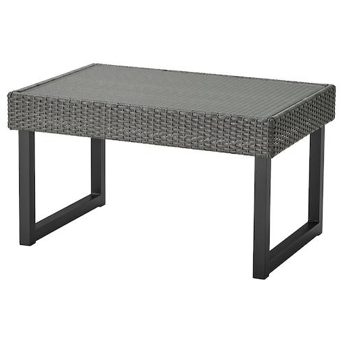 SOLLERÖN coffee table, outdoor anthracite/dark grey 92 cm 62 cm 51 cm