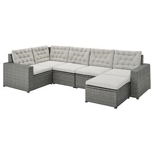 Colour: With footstool dark grey/kuddarna grey.