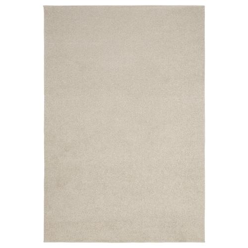 SPORUP rug, low pile light beige 195 cm 133 cm 11 mm 2.59 m² 2200 g/m² 800 g/m² 9 mm