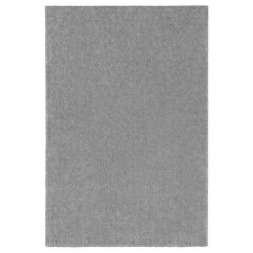 STOENSE rug, low pile medium grey 300 cm 200 cm 18 mm 6.00 m² 2560 g/m² 1490 g/m² 15 mm