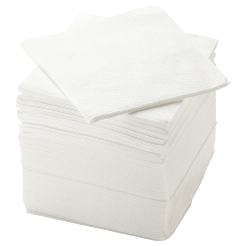 STORÄTARE paper napkin white 30 cm 30 cm 150 pack