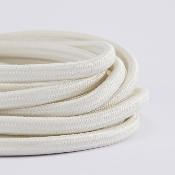 STRÅLA Cord set, white, 4 m