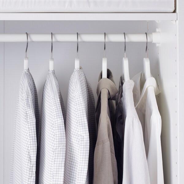 STUK Clothes cover, set of 3, white/grey