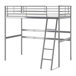 Ikea SvÄrta Loft Bed Frame The Ladder Mounts On Right Or Left Side Of