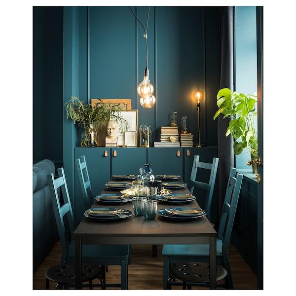 TÄRENDÖ Table, black, 110x67 cm