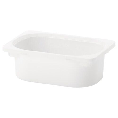 TROFAST storage box white 20 cm 30 cm 10 cm