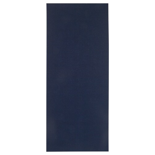 TYRSTED rug, flatwoven dark blue 200 cm 80 cm 5 mm 1.60 m² 1200 g/m²