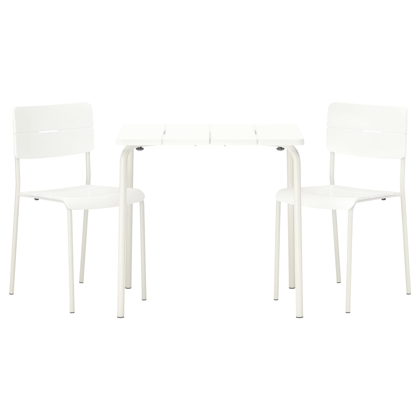 IKEA VÄDDÖ table+2 chairs, outdoor Easy to keep clean – just wipe with a damp cloth.
