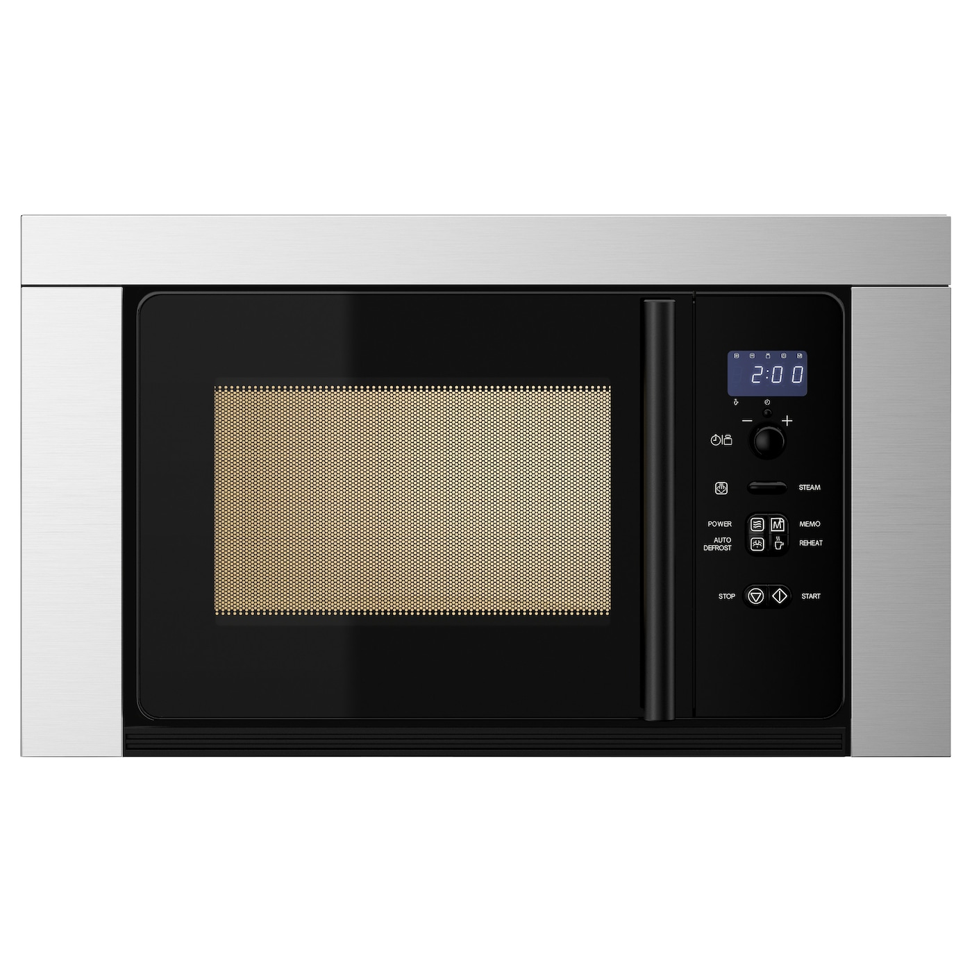 IKEA VÄRMA microwave oven 5 year guarantee. Read about the terms in the guarantee brochure.
