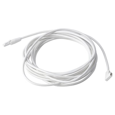 VÅGDAL Connection cord, white, 3.5 m