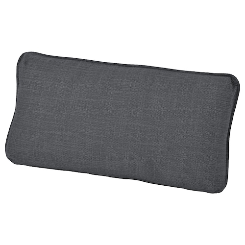 VALLENTUNA back cushion Hillared dark grey 40 cm 75 cm