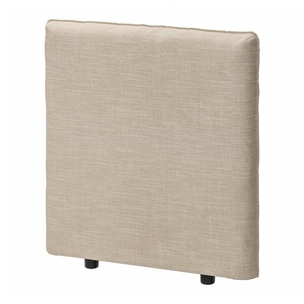 VALLENTUNA Back rest, Hillared beige, 80x80 cm